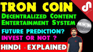 Cryptocurrency Review: Tron Coin (TRX) Price Prediction-Making Internet  Decentralized [Hindi / Urdu] - Diffcoin