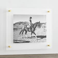Floating acrylic wall frame 19x16 Floating Pinterest Brass 19