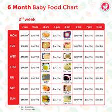 Baby Food Chart 3 Months 8 Month Baby Food Chart In Bengali Www Bedowntowndaytona Com
