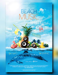 Beach Flyer Pictures Of Beach Party Poster Designs Kidskunst Info