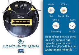 Robot hút bụi lau nhà Vrobot V33 - Nhà Thông Minh SALA