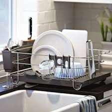 Kitchen Dish Rack Small Kitchen Sink Dish Drainer Best Kitchen Ideas 2017