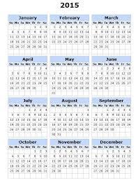 2015 Printable Calendar With Holidays Printable Monthly