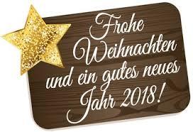 Resultado de imagen de Frohe weihnachten und guten Rutsch ins neue jahr 2018
