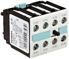siemens 3rh19 21 1ha22 auxiliary switching block for contactor s0 siemens 3rh19 21 1ha22 auxiliary switching block for contactor s0 s12 size screw connection 4 pole 22 identification number 2 no 2 nc contacts on