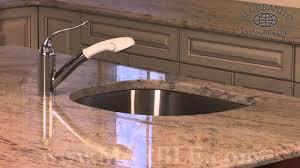 Brown Granite Kitchen Countertops Ivory Brown Granite Kitchen Countertops By Marblecom Youtube