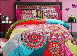 vintage boho style cotton bedding set