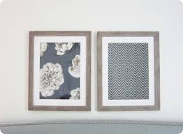 diy wall art this is a genius idea to frame large fabric samples to knock