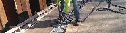 Deck Welding Using A Stud Welder Explanation On Shear Studs