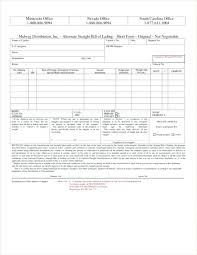 Short Form Bill Of Lading Template Bill Of Lading Template Free Download Moontex Co