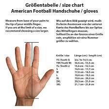 Ua Football Glove Size Chart Under Armour Mens F6 Football Gloves Black 002 Black