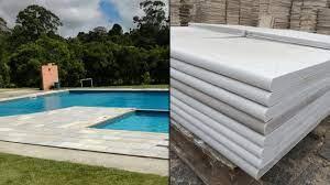 Consulte a stonewall pedras e faça um orçamento sem compromisso. Borda De Piscina Sao Tome Disponivel Em Varios Tamanhos E Cores