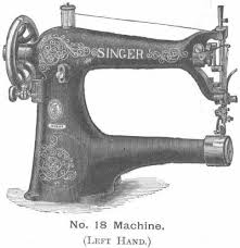 Left Handed Sewing Machine