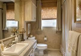 mobile home bathroom window curtains