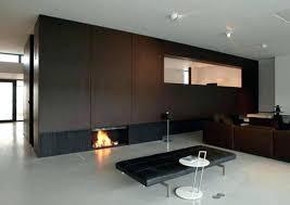 modern fireplace doors glass contemporary insert design ideas brushed nickel