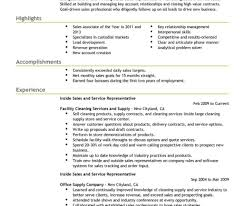 Inside Sales Resume Examples Rep Sample Account Manager Vozmitut