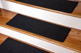 carpet stair treads. dean non-slip tape free pet friendly diy carpet stair treads/rugs 27\ treads