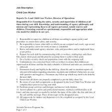 child care duties responsibilities resume resume teacher responsibilities resume