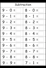 Kindergarten Subtraction 4 Worksheets | Printable Worksheets ...