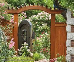 create a beautiful rose garden garden