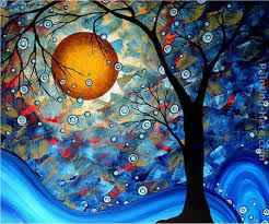 blue essence painting megan aroon duncanson blue essence art painting