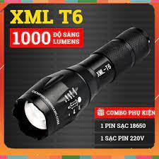 Đèn Pin Siêu Sáng Nhỏ Gọn, Đèn Pin Siêu Sáng USA XML -T6 Chính Hãng giá  cạnh tranh