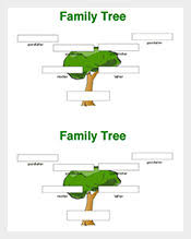 Family Tree Template 140 Free Word Excel Pdf Format