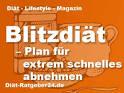 blitzdiät 2 wochen plan