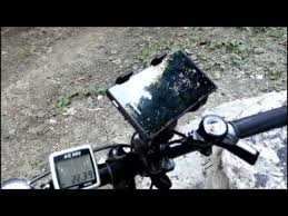 <b>Держатель</b> телефона на <b>велосипед</b> и его крепление на <b>руль</b> ...