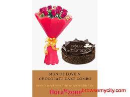 Midnight Cake Delivery In Kolkata Florazonecom 63145