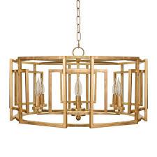 worlds away mckenzie chandelier gold