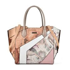 Designer Floral Handbags 2018 New National Luxury Handbags Woman Top Handle Tote Socialite Brand Designer Floral Big Patchwork Stereotypes Shoulder Bags Sy2127 Leather Goods
