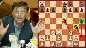 Bill Gates Misses His Chance To Beat Magnus Carlsen - YouTube