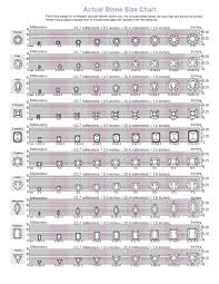 Oval Color Stone Size Chart Cubic Zirconia Size Chart Cubic Zirconia Cz Natural