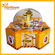 Toy Prize Vending Machine Beauteous Family Excavator Prize Vending Game Machine Coin Operated Toys Gift