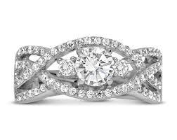 1 Carat Diamond Ring Designs Perfect Designer 1 Carat Round Diamond Engagement Ring For