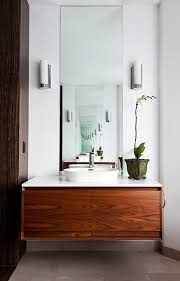 toronto white vessel with round sinks bathroom contemporary and gray ceramic floor tile wooden vanity