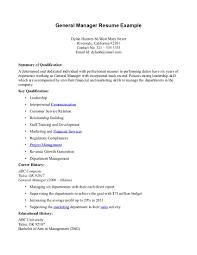 General Resume Examples General Resume Examples Resume Templates 3