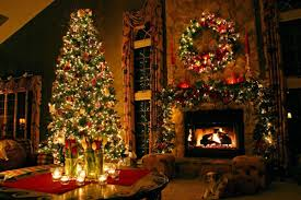Xmas Living Room Christmas Living Room Pics House Decor