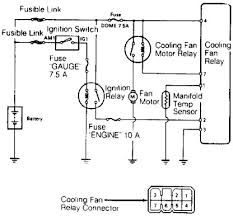 wiring diagram for electrical radiator fan the wiring diagram 1989 toyota land cruiser cooling fan wiring diagram wiring diagram