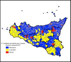 Sicilia, la geografia del voto