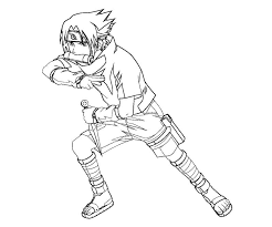 Sasuke Printable Coloring Pages Coloring Pages For Familly And Kids