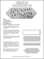 10 Minute Table Runner Pattern New SAFTPOCKETS Patterns Sewing Patterns With Pockets Clothes