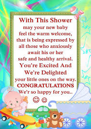Baby Shower Messages QuotesNew Baby Shower Wishes