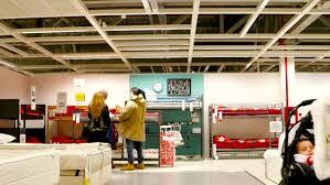 RUSSIA SAMARA JAN 5 2014 People Walk Among Furniture In Store