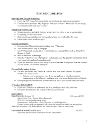 Qualifications And Skills For Resume Targeted Resume Process