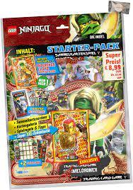 Lego Ninjago Karten Trading Cards Serie 6 - Die Insel (2021) - 1 Starter +  3 Booster + stickermarkt24de Gum: Amazon.de: Spielzeug