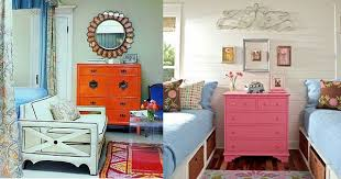 bright coloured furniture. for a similar look try pale green this brightly painted chest of drawers makes dramatic impact soft jade pop colour bright coloured furniture r
