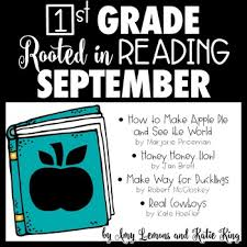 rooted in reading 1st grade september read aloud lesson plans and activities
