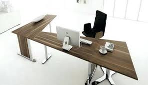 futuristic office desk. Futuristic Office Desk Modern Writing White Furniture Light E